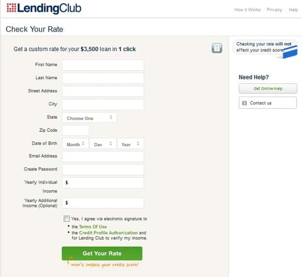 quick loans peer to peer lending