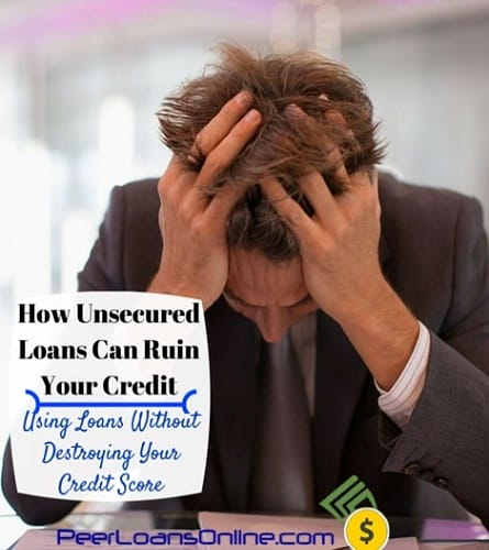 how to unsecured loans credit