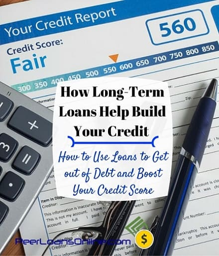 long term loans fix credit score