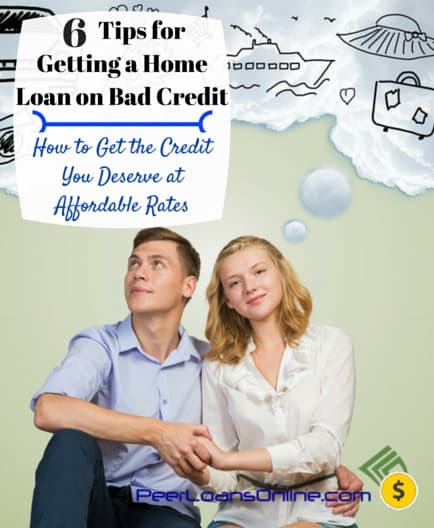 getting a home loan bad credit