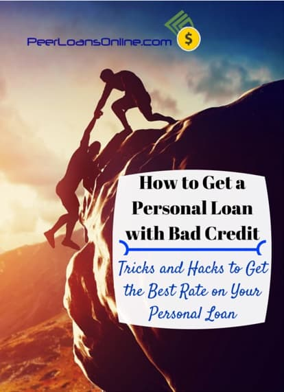 how get personal loan with bad credit fast