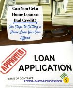 Is it Possible to Get Bad Credit Home Loans?