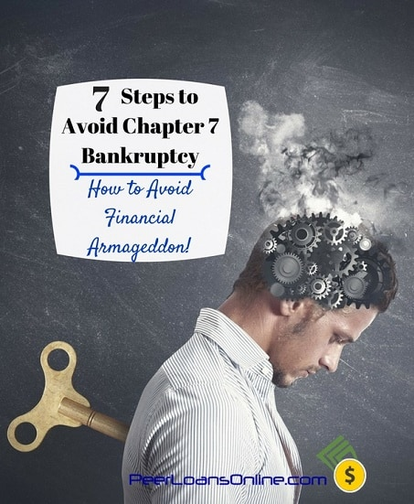 steps to avoid chapter 7 bankruptcy