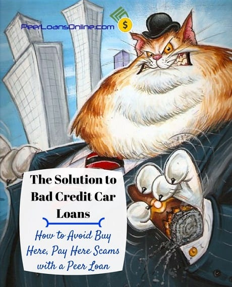 The Solution to Bad Credit Car Loans and Scams