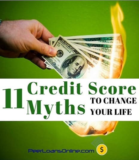 fico credit score myths and facts