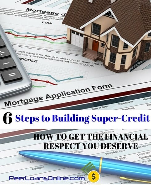 steps to building credit score for best loan rates