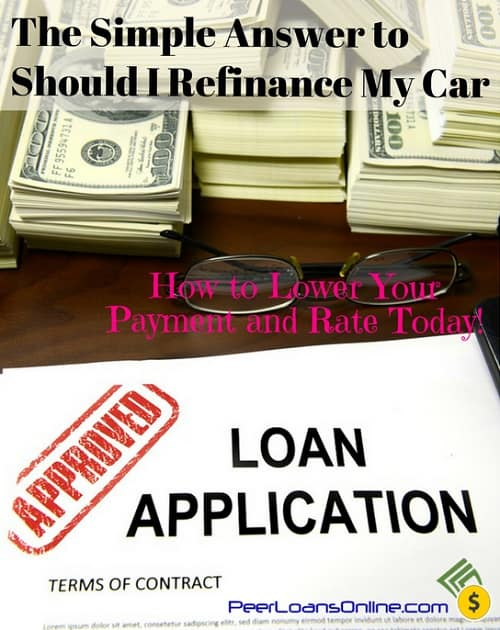 should i refinance my car