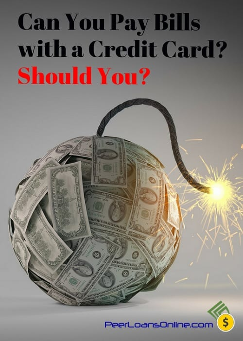 can you pay bills with credit card