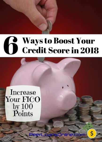 fast ways to increase your credit score 2018