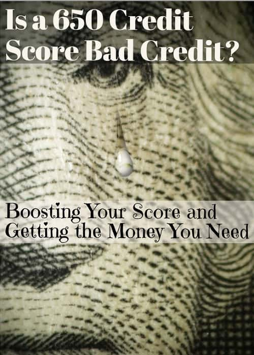 how bad is 650 credit score