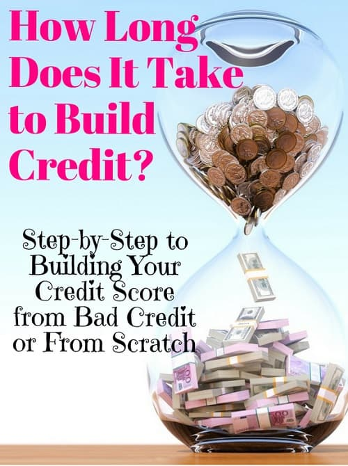 how long does it take to build credit score