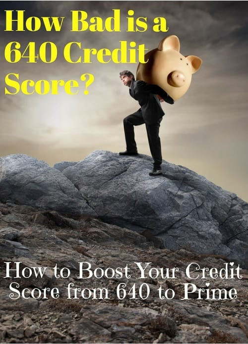 is 640 credit score bad