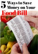 How To Save Money On Your Food Bill