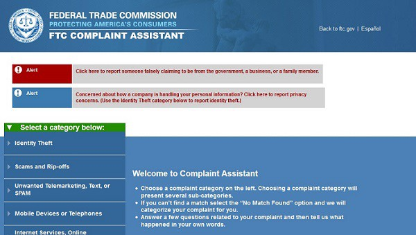 personal loan scams contact complaints