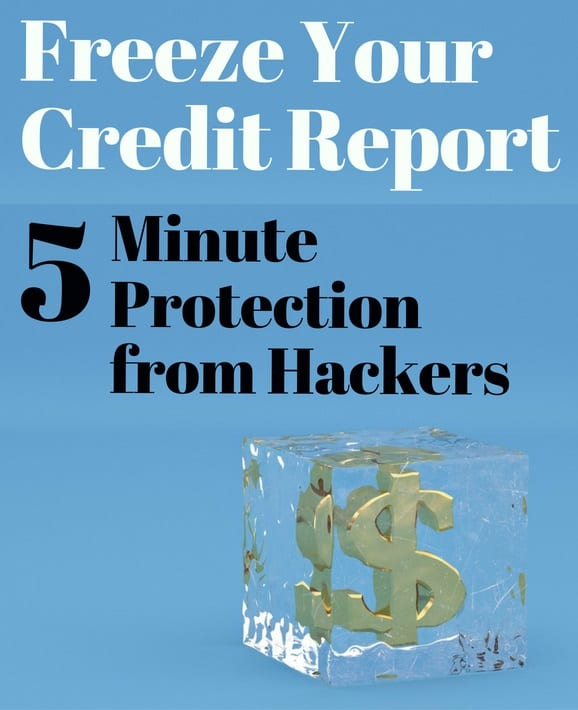 how to freeze credit report free