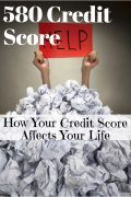 How to Fix a 580 Credit Score Fast