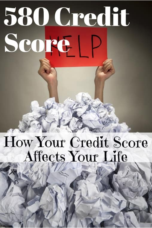 is 580 credit score bad credit