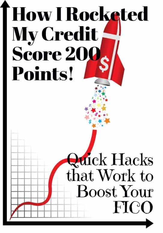 increase credit score 200 points fast