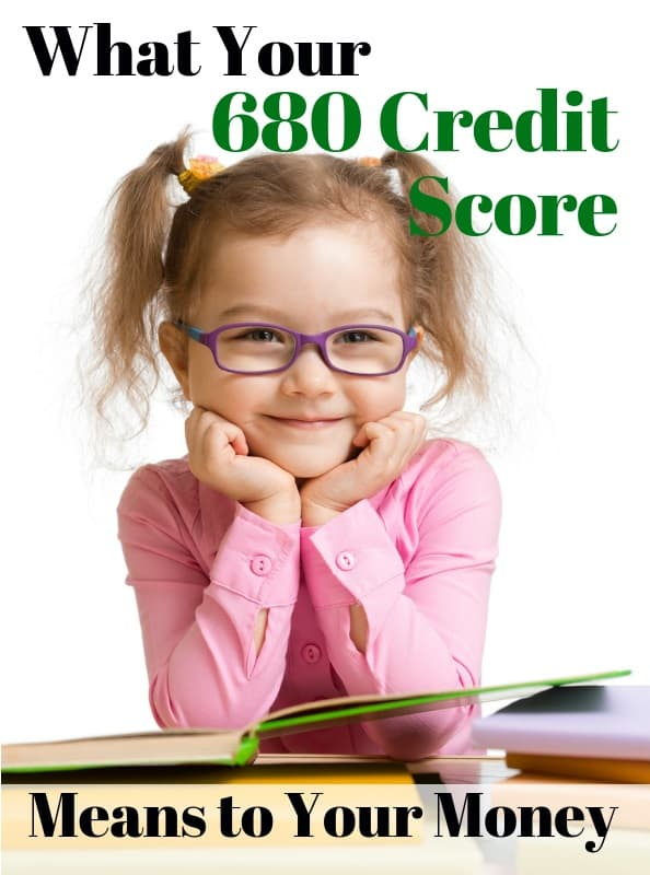 is 680 credit score bad credit