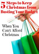 How to Get Christmas Help When You Can't Afford the Holiday