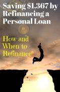 should i refinance my personal loan