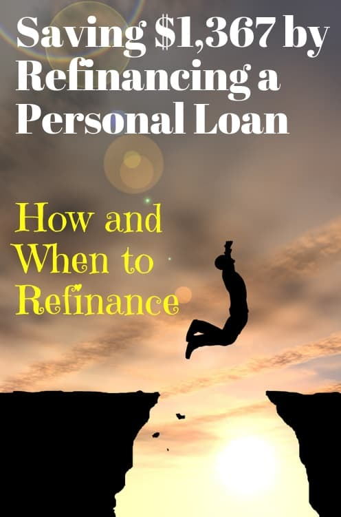 should i refinance my personal loan