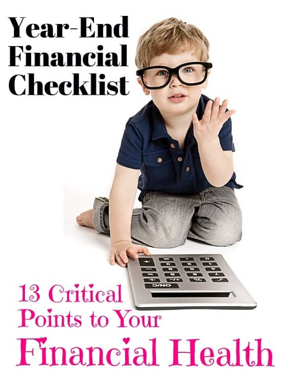 13 Step Year-End Financial Checklist