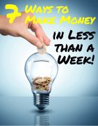 how to make money in a week