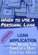 how to use a peer to peer personal loan