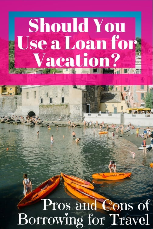 get a personal loan for vacation