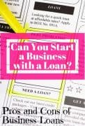 should you use a personal loan to start a business