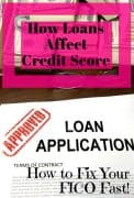 how does peer to peer loan affect credit score