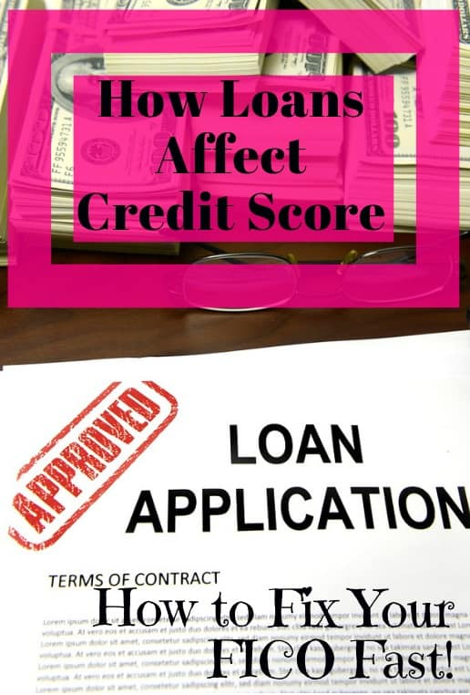 how does peer to peer loan affect credit score