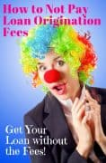 what are loan origination fees
