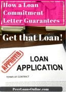 what is a loan commitment letter